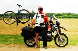 Motorcycle Bicycle Carrier