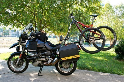 2 x 2 Cycles Motorcycle Bicycle Rack Carrier