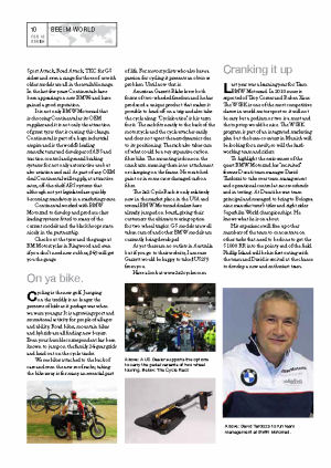 Beemer World Magazine February 2010