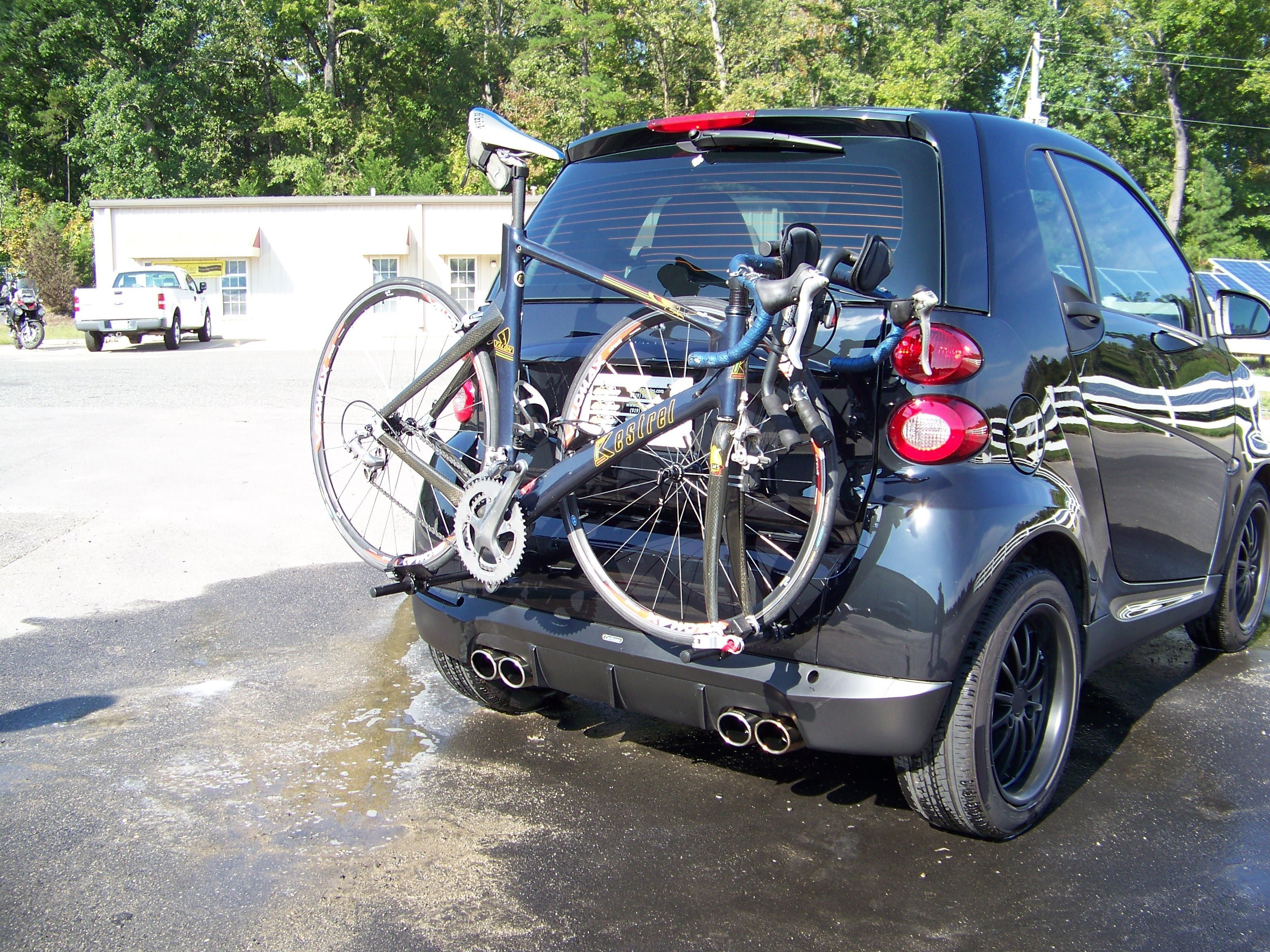 Bike Rack For Car The Smart Car Bicycle Rack