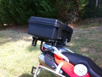 2x2 Rack with Pelican Case mounted over