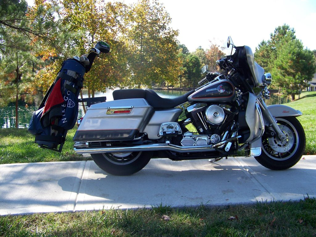 Motorcycle Golf Bag Carrier 2 215 2 Cycles