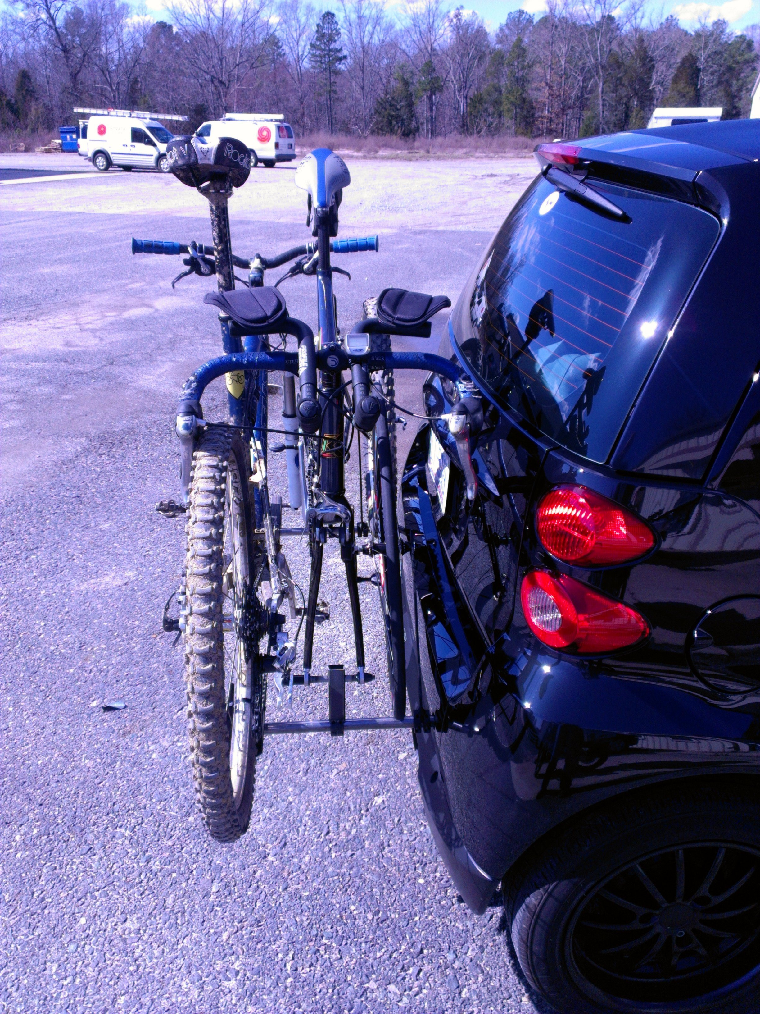 The Smart Car Bicycle Rack 2 2 Cycles