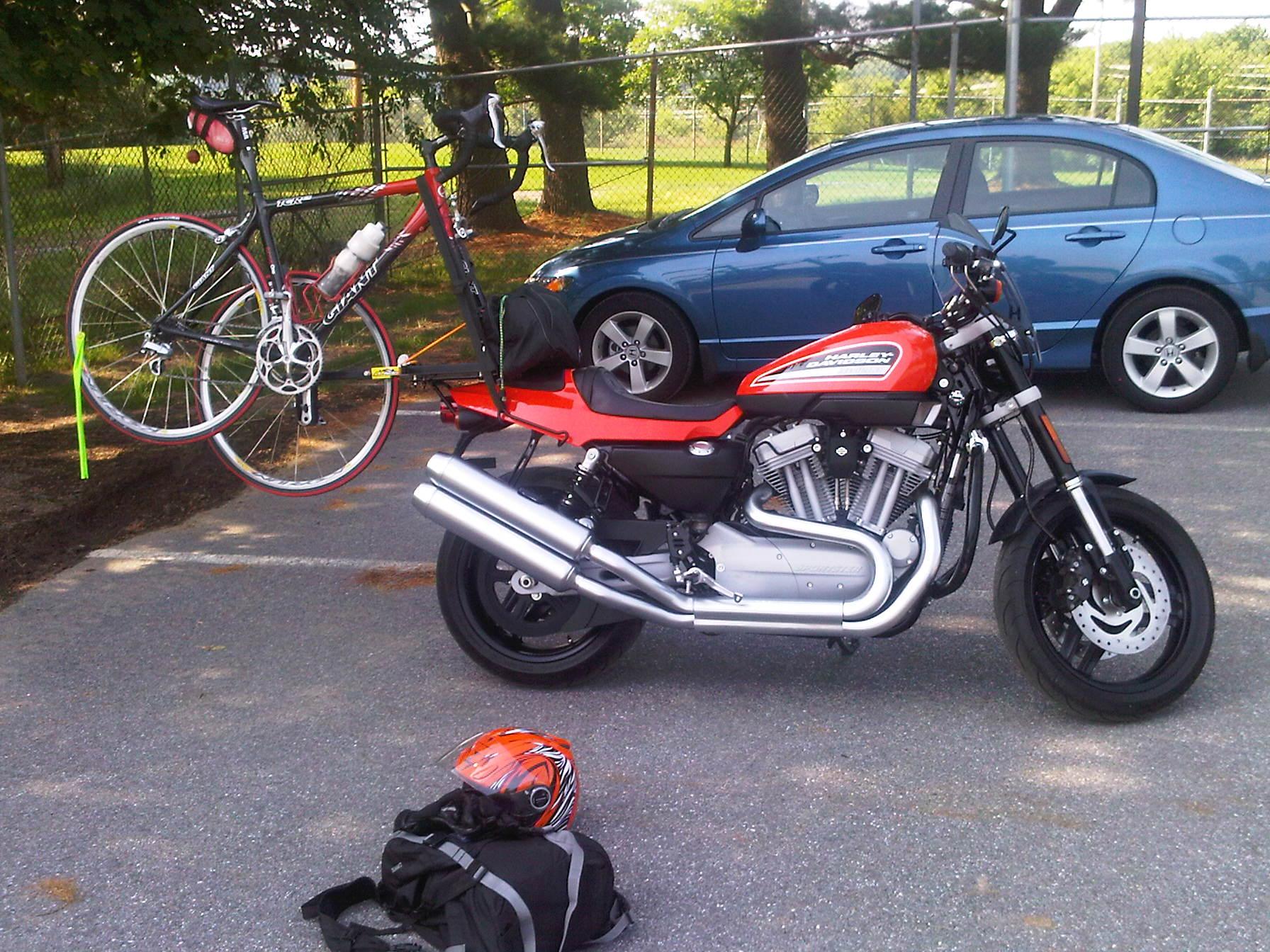 Harley Davidson Indian Bicycle Carrier Horizontal 2